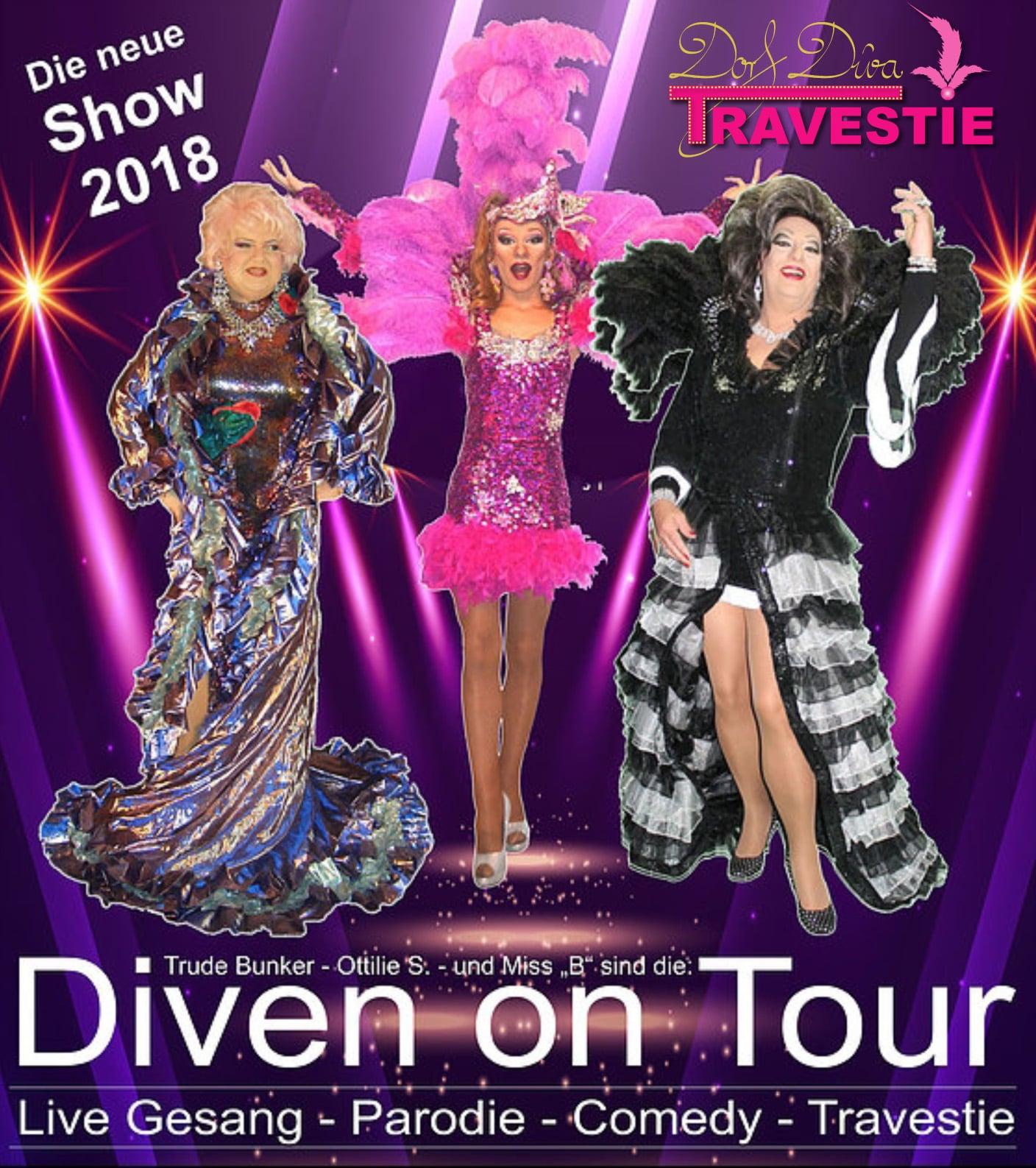 Dorf Diva Travestie – 10.8.2018 // 19 Uhr